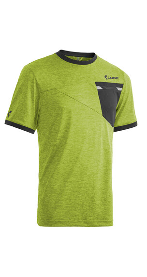 Cube Tour Free - Maillot manches courtes Homme - vert